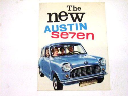 Austin Seven オリジナル 当時物 オートモビリア 印刷物 カタログ