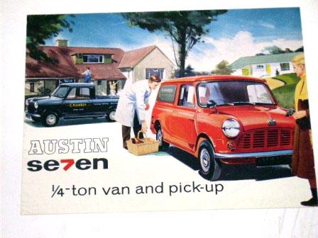Austin Aeven Van&Pick-up オリジナル 当時物 オートモビリア 印刷物 カタログ
