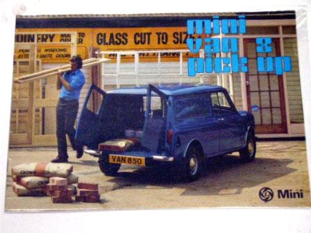BL Mini Van & Pick-up オリジナル 当時物 オートモビリア 印刷物 カタログ