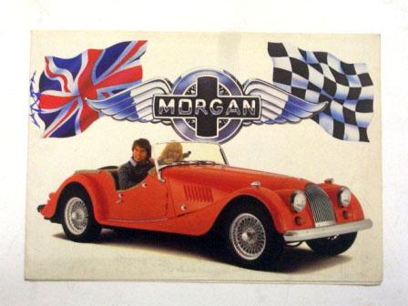 Morgan オリジナル 当時物 オートモビリア 印刷物 カタログ