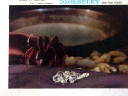 Wolseley BL オリジナル 当時物 オートモビリア 印刷物 カタログ