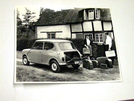 フォト プレス用 1959y' オリジナル 当時物 オートモビリア 印刷物 ポスター