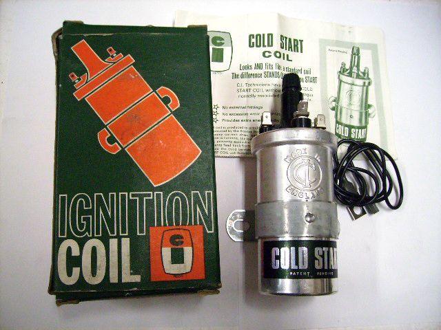 イグニション コイル CI製 ネガティブ・アース Cold Start 英国車・MINIのレアパーツ 電装関係(ランプ類を除く)