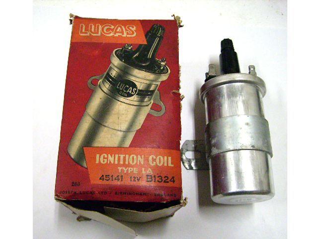 イグニション コイル Lucas製 英国車・MINIのレアパーツ 電装関係(ランプ類を除く)