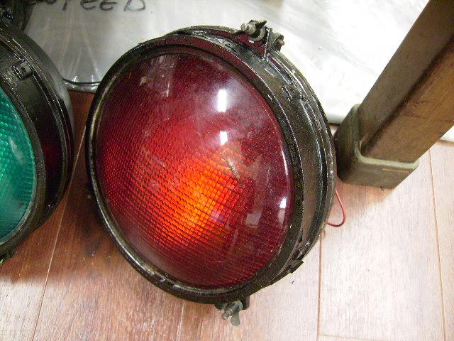 英国製 信号機ライト(レッド) オートモビリア その他 その他