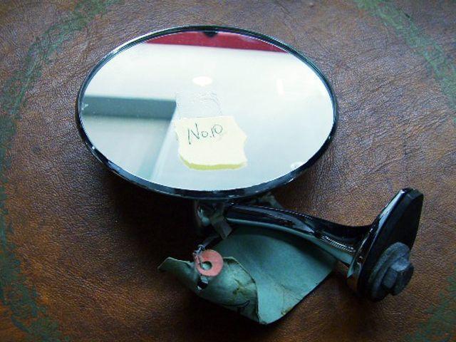 フェンダー/ドア ミラー左 ウィンガード製 未使用 英国車・MINIのレアパーツ ボディ&エクステリア(Body/Exterior)