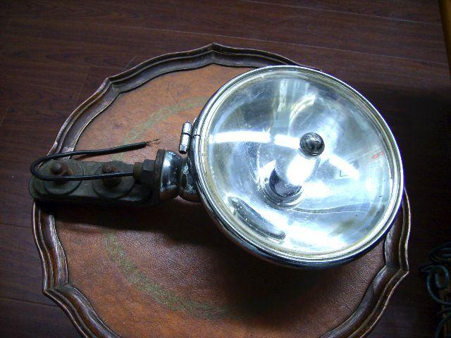 LUCAS スポットランプ ブラケット付き モンテカルロ用 中古 英国車・MINIのレアパーツ ライト類