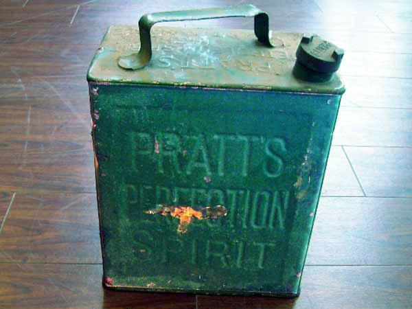 オイル缶 Pratts オートモビリア オイル オイル携行缶