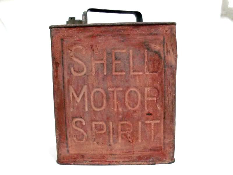 オイル缶 Shell オートモビリア オイル オイル携行缶