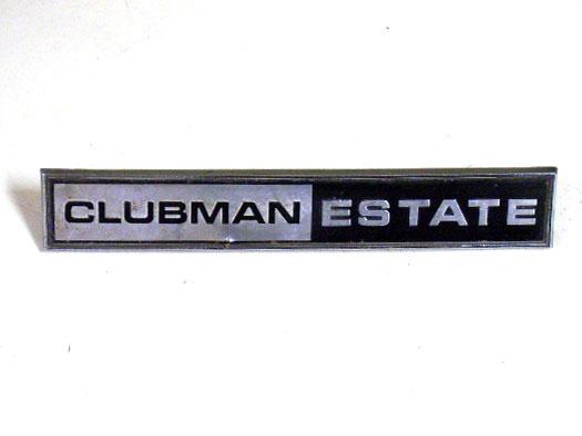 バッジ (リア) MINI クラブマン エステート 純正 中古 英国車・MINIのレアパーツ エンブレム類(Emblem)