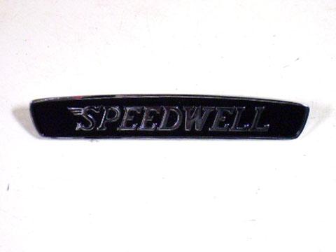 バッジ SPEEDWELL(スピードウェル) 新品 英国車・MINIのレアパーツ エンブレム類(Emblem)