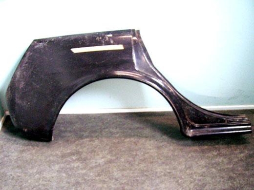 ADO16(バンデン プラス・ライレー・ウーズレー・MG・オースチン・モーリス)用 リアフェンダー 右 純正 新品 英国車・MINIのレアパーツ ボディ&エクステリア(Body/Exterior)
