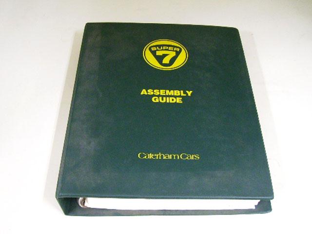 CATERHAM SUPER 7 ASSEMBLY GUIDE オートモビリア 印刷物 書籍
