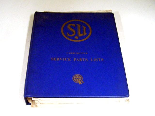 SU(CAB) SERVICE PARTS LISTS BMC オートモビリア 印刷物 カタログ