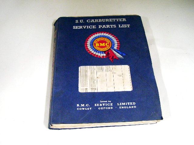 SU SERVICE PARTS LISTS BMC オートモビリア 印刷物 カタログ