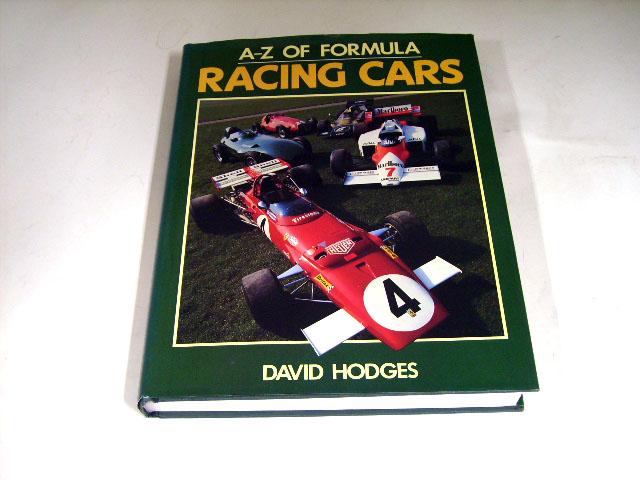 A-Z OF FORMULA RACING CARS オートモビリア 印刷物 書籍