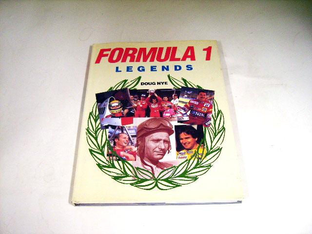 FORMULA 1 LEGENDS オートモビリア 印刷物 書籍