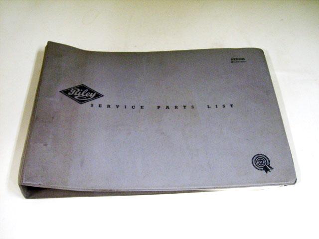 RILEY MK-1.2 SERVICE PARTS LIST BMC オートモビリア 印刷物 カタログ