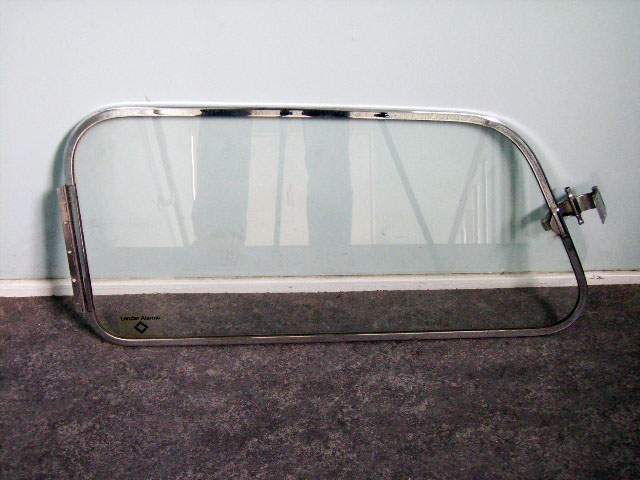MINI MK-1.2 リアサイド ウィンドウ ASSY 中古 1枚 (左右 在庫あり) 英国車・MINIのレアパーツ ボディ&エクステリア(Body/Exterior)
