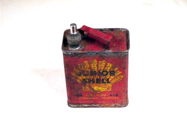 SHELL缶 JUNIOR オートモビリア その他 ティン(缶)