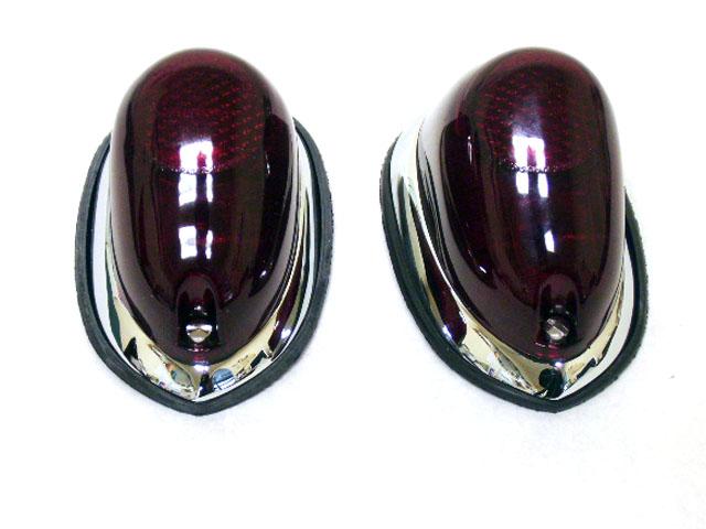 オースチンヒーレーMK-1 テールランプ 社外 ペアセット 英国車・MINIのレアパーツ ライト類