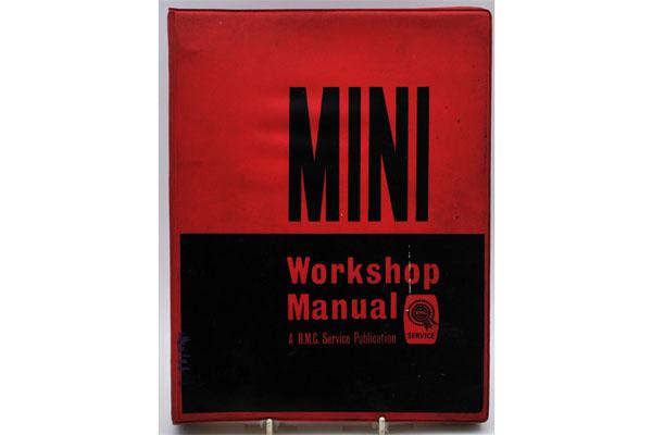 オートモビリア 印刷物 マニュアル MINI Workshop Manual