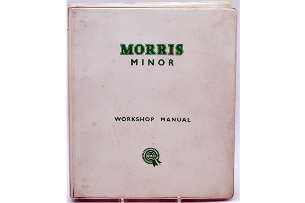 オートモビリア 印刷物 マニュアル Morris Minor Workshop Manual