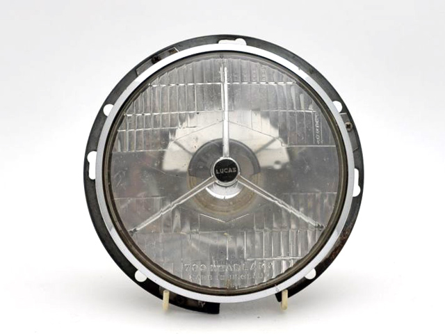 LUCASライト 3ポイント 英国車・MINIのレアパーツ ライト類