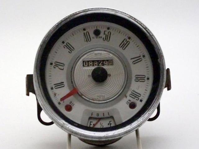スピードメーター 中古 ミニ MK-1 前期型 英国車・MINIのレアパーツ 計器類