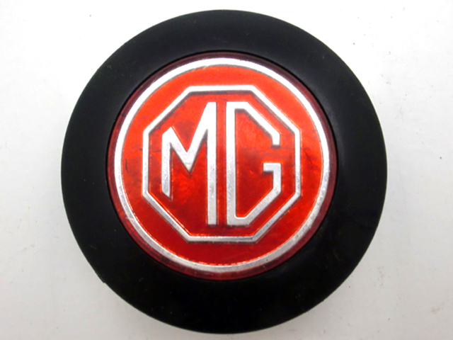 MG ステアリングセンターモチーフ 中古 英国車・MINIのレアパーツ ステアリング