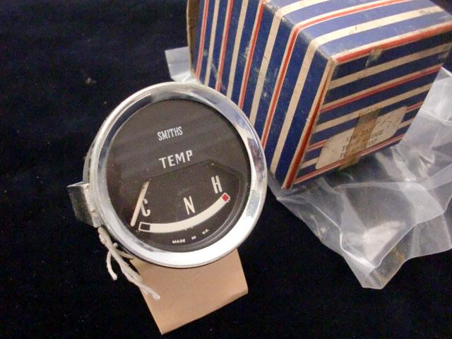 Mini Mk1&S ゲージ 水温計 ボルテージ・レギュレター内蔵 未使用(デッドストック) 英国車・MINIのレアパーツ 計器類