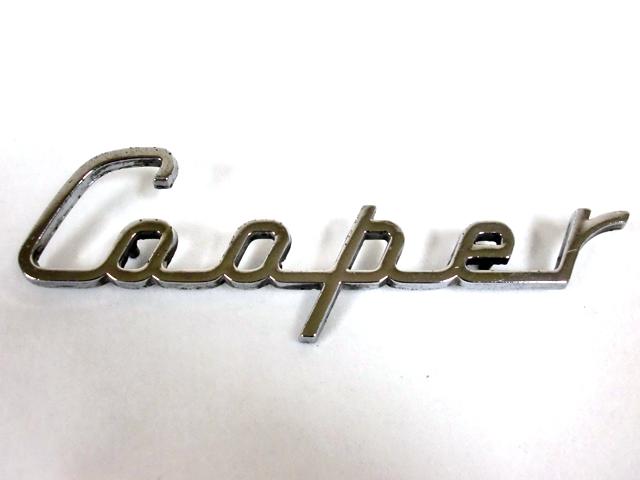 バッジ(リア) Cooper 純正 中古 英国車・MINIのレアパーツ エンブレム類(Emblem)