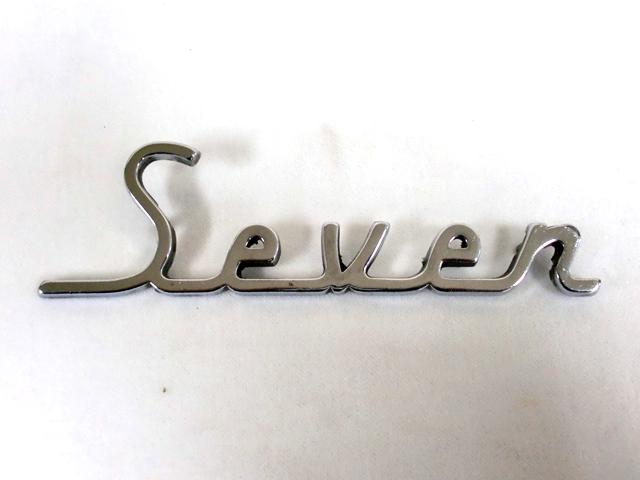 バッジ(リア) Seven 純正 中古 英国車・MINIのレアパーツ エンブレム類(Emblem)
