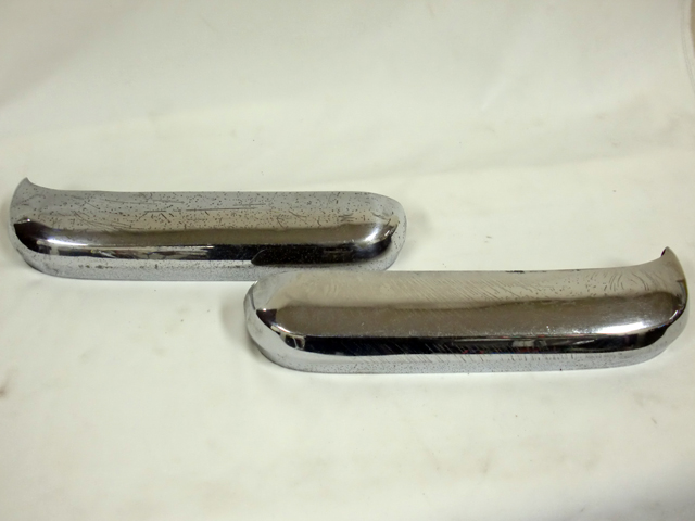 ミニ クラブマン エステート リア バンパー 左右セット 純正 中古 英国車・MINIのレアパーツ ボディ&エクステリア(Body/Exterior)