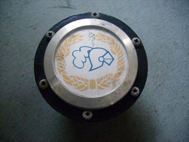 英国ジャックナイト(JKD)製 オリジナル ステアリング ベゼル&ボス&バッジ MINI パーツ 通常品