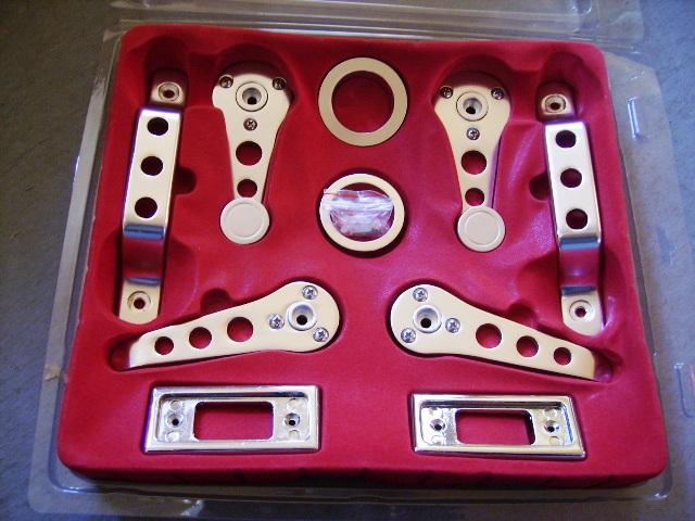 アルミ ドア ハンドル 5点セット MINI パーツ 通常品