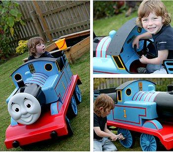 英国Premier Pedal Cars社製 アルミ製ペダル・カー「機関車トーマス (Thmas the Tank Engine)」 (シリアルナンバー入り)