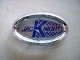 バッジ (フロント) 英国ジャックナイト(JKD)製 オリジナル 純正 ベゼル付き