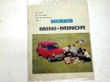 リーフレット Morris Mini Minor オリジナル 当時物