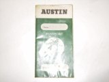 小冊子 Austin Passport to service