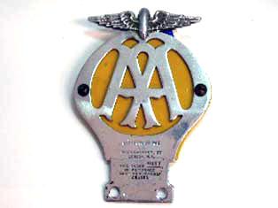 画像1: AA カーバッジ オリジナル