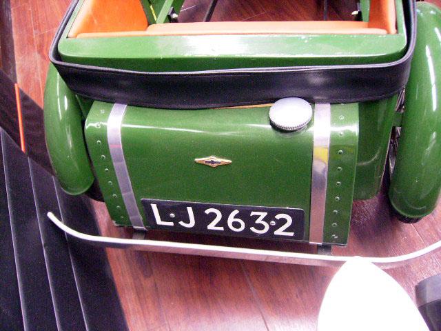 画像2: ペダルカー Bentley 4 1/2 Litre ベントレー 4 1/2リットル