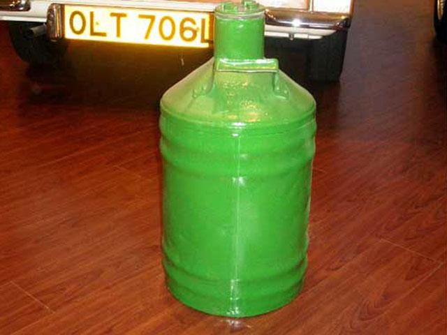 画像4: オイル缶 グリーン