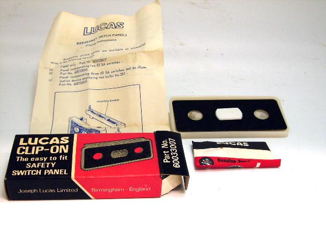 画像1: ルーカス クリップ‐オン スイッチパネル 新品 オリジナルパッケージ入り