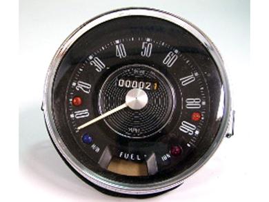画像1: スピードメーター 90MPH 純正 ミニ MK-1 Smith スミス製 未使用