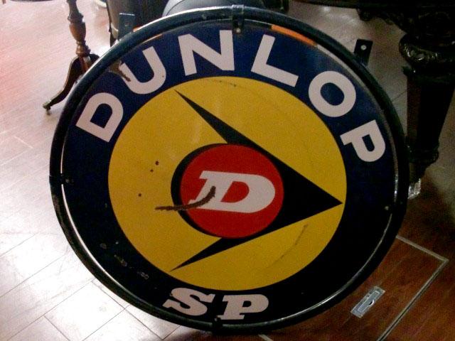 画像3: サインボード DUNLOP エナメル 両面