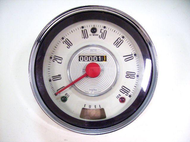 画像1: スピードメーター MK-1(白) 90MPH 新品 希商品