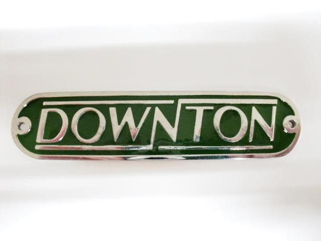 画像2: バッジ ダウントンDownton メタル