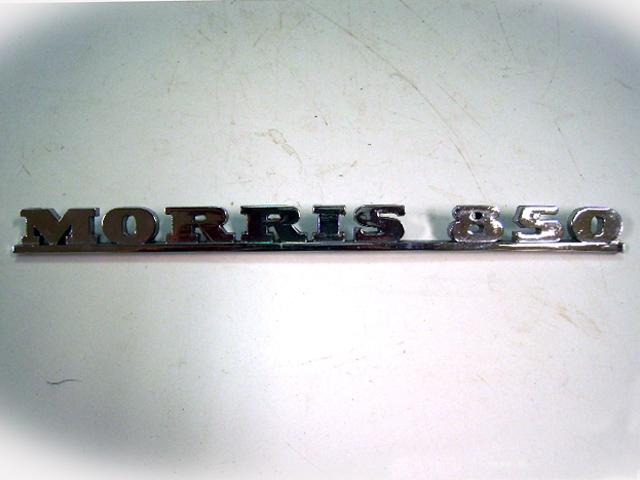 画像1: バッジ (リア) Morris Mini 850 純正 未使用