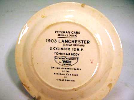 画像2: Wade社 Veteran Car シリーズ 絵皿 Lanchester